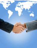 Close-up of a business people shaking hands Royalty Free Stock Photo