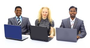 Close-up of business person Stock Photography