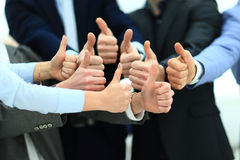 Close-up of business team Stock Image