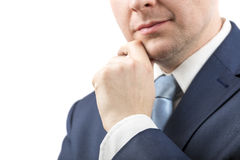 Close up of a businessman Royalty Free Stock Photos