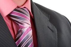 Close up businessman tie Stock Image