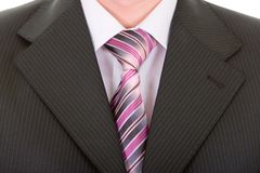 Free Close Up Businessman Tie Stock Image - 4780841