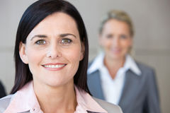 Close-up of businesswoman Royalty Free Stock Photo