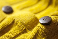 Close up of button Stock Image