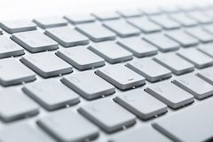 Close up of buttons of computer keyboard Stock Image