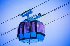 Close up of cable car Stock Image