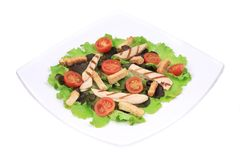 Close up of caesar salad. Stock Image