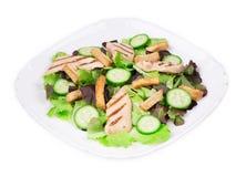 Close up of caesar salad. Royalty Free Stock Image