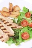 Close up of caesar salad. Royalty Free Stock Photo
