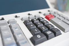 Close-up of calculator Stock Photos