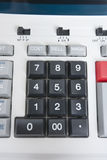 Close-up of calculator pushbuttons Royalty Free Stock Photography