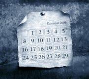 Close up of calendar Stock Image