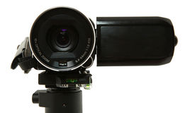 Close Up Of Camcorder Lens Royalty Free Stock Photography