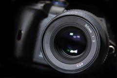 Close-up of camera Stock Image