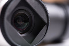 Close up of camera lenses Royalty Free Stock Image