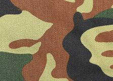Close up of camouflage pattern. Royalty Free Stock Image