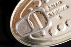 Close up of can. Close up of a canned tuna Stock Photos