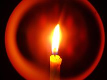 Close up of Candle Stock Photo