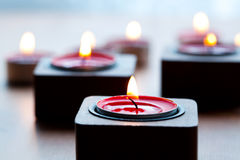 Close-up of candles Royalty Free Stock Photo