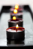 Close-up of candles Royalty Free Stock Images