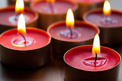 Close-up of candles Stock Image