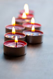 Close-up of candles Stock Photography