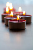 Close-up of candles Royalty Free Stock Image