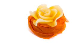 Close-up of candles shape rose Stock Photo