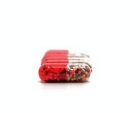 Close up of Capsules Royalty Free Stock Images