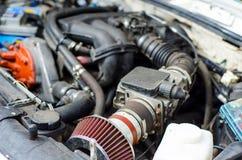 Car Air Filter. Close-up of Car Air Filter royalty free stock photography