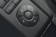 Close up of a car buttons Royalty Free Stock Photos