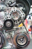 Close up of car engine Royalty Free Stock Photography