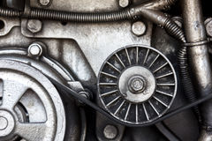 Close-up car engine, auto car part. Stock Photography