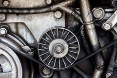Close-up car engine, auto car part. Stock Images
