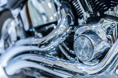 close up of Car Engine with metal Stock Image