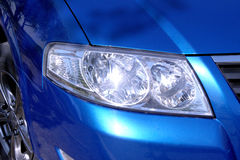 Close-up car headlight Royalty Free Stock Photography