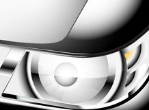 Close up car headlight Stock Images