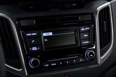 Close up car interior royalty free stock images