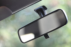 Close up of car mirror Stock Images