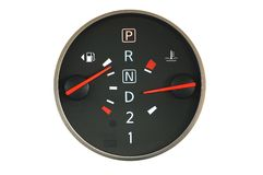 Close up of car petrol Royalty Free Stock Images