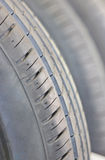 Close Up Car's Tire. Royalty Free Stock Images