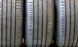 Close Up Car's Tires. Stock Photos