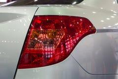 Close up car tail light. Close up of new car tail light Royalty Free Stock Photo