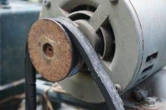 Car timing belt. Close up car timing belt royalty free stock images