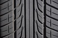 Close-up car tire Royalty Free Stock Image