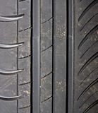 Close-up of car tire background Royalty Free Stock Photography