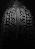 Close-up of car tire Royalty Free Stock Photography