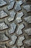 Close up car tire texture Stock Photos