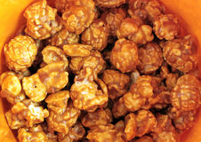 Close up of Caramel Popcorn Royalty Free Stock Photography