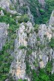 Close up of carbonate mountain. Khao Dang,Sam roi yot national park,Thailand Royalty Free Stock Image